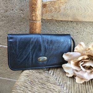 Capezio Black Wrislet Wallet Since 1887
